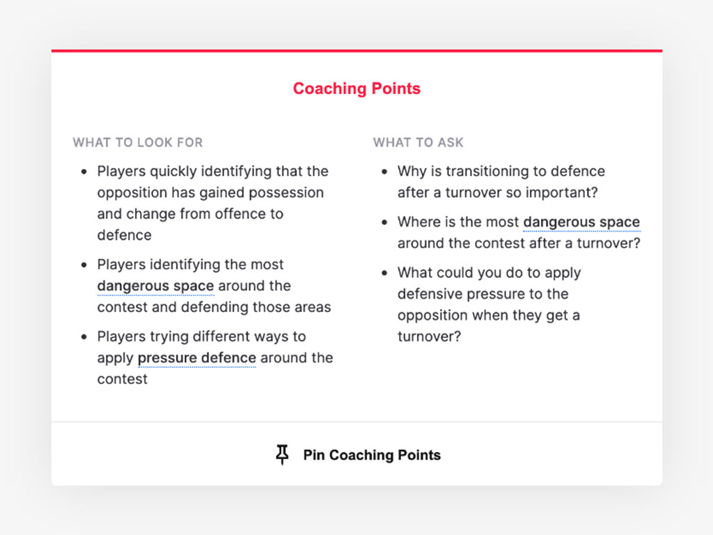 coach edu coaching points
